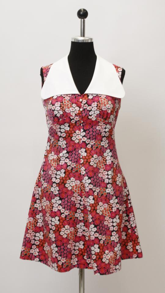 60er Jahre Kleid Geblumt Kostumverleih Breuer In Munchen