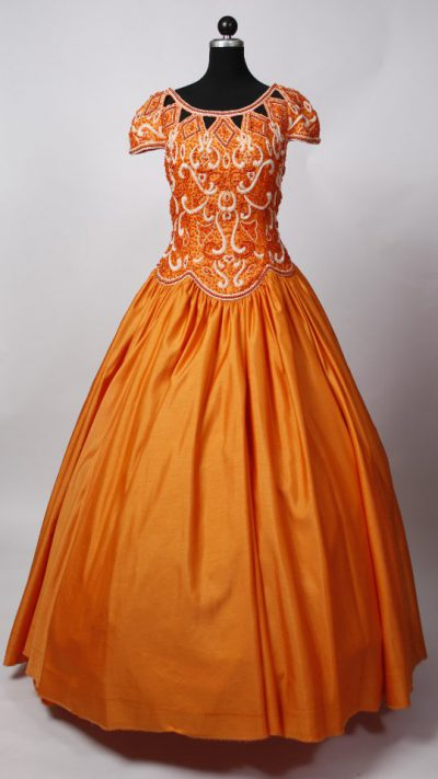 ballkleid-orange