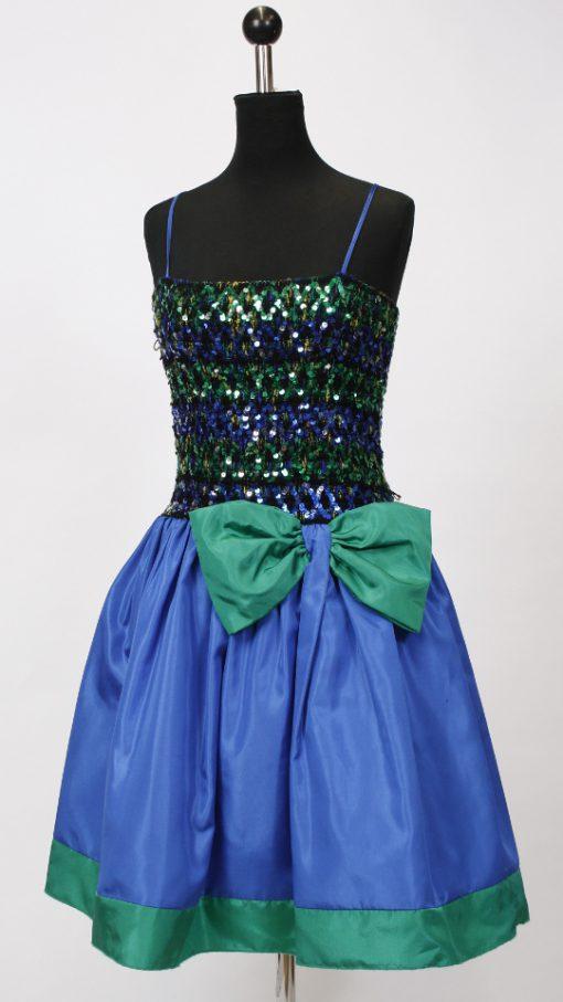 BlauGrünKleid