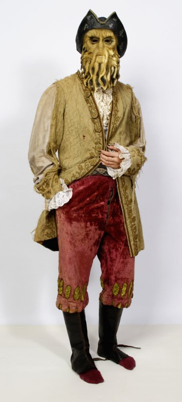 Halloween Kostüm Pirat mit Maske
